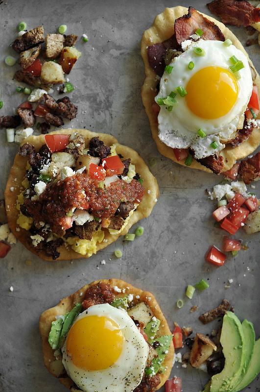 Fry Bread Breakfast Tacos