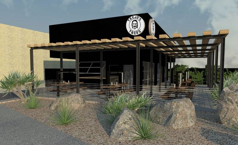 Trejos Tacos From Film Legend Danny Trejo Shaping Up in Mid-City
