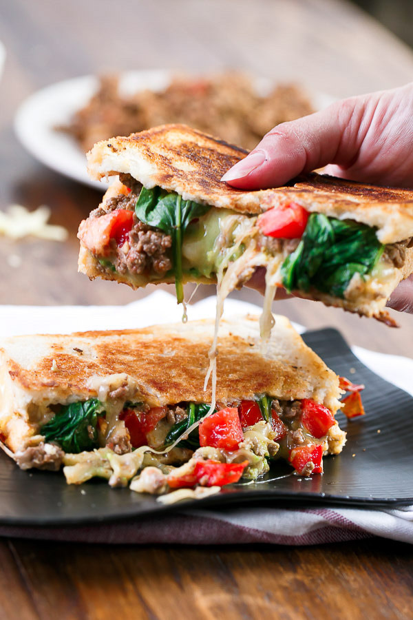 LOADED TACO GRILLED CHEESE